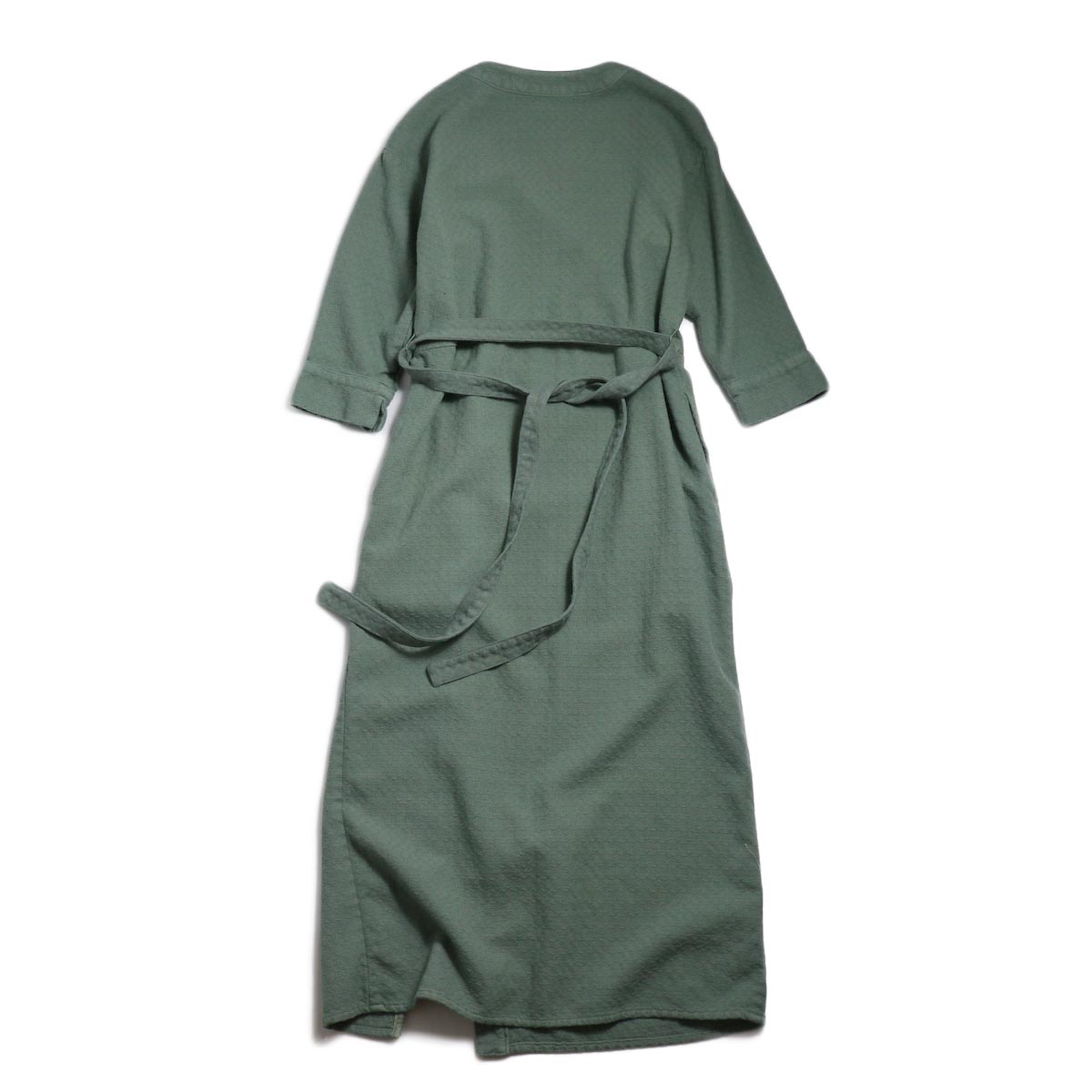 archi / Cuphea Long Shirt -Blue 背面