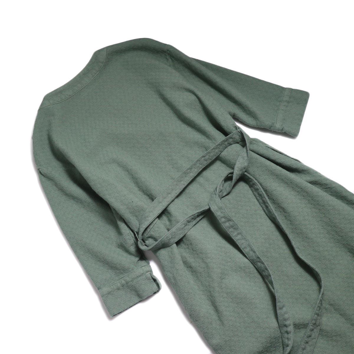 archi / Cuphea Long Shirt -Blue 背面ウエスト
