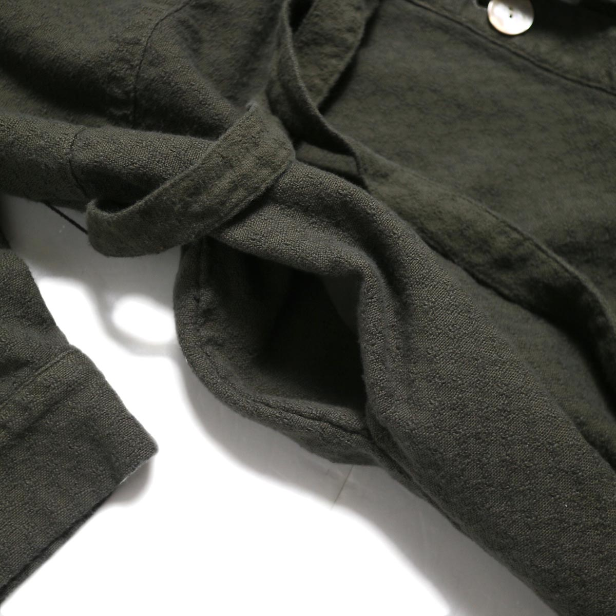 archi / Cuphea Long Shirt -Charcoal Gray ポケット