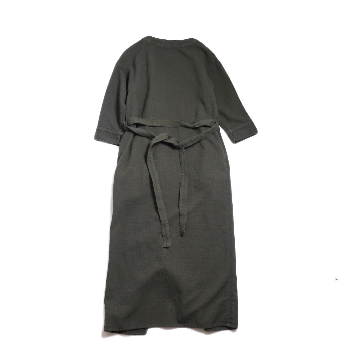 archi / Cuphea Long Shirt -Charcoal Gray 背面