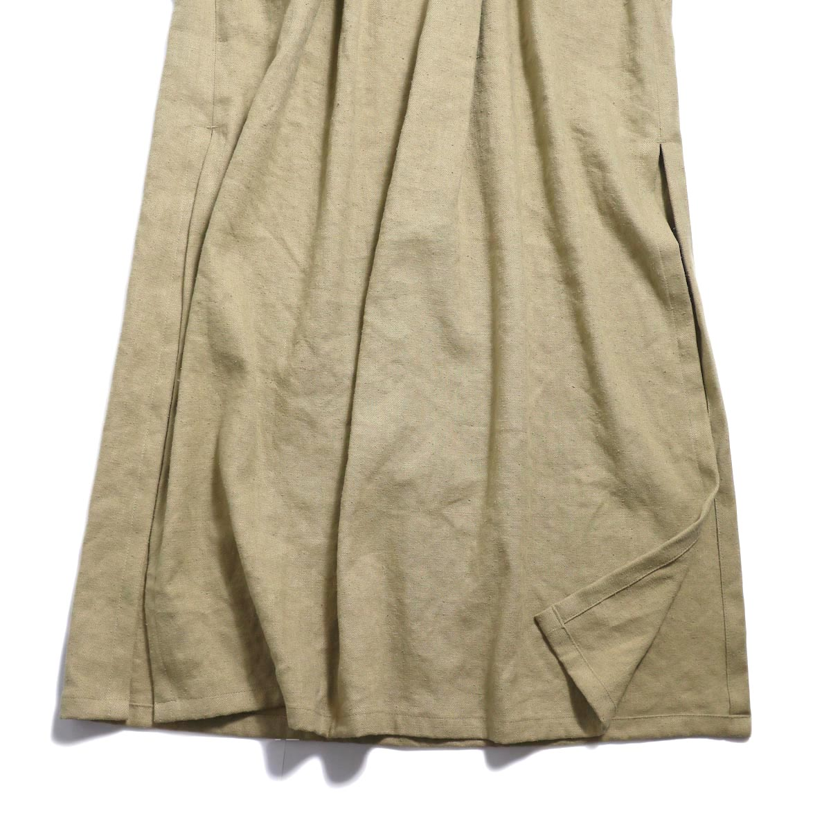 archi / Yucca Long Onepiece -Beige 裾