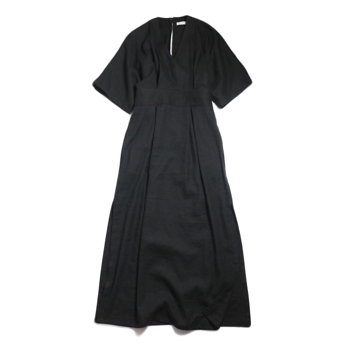 archi / Yucca Long Onepiece -Black 正面