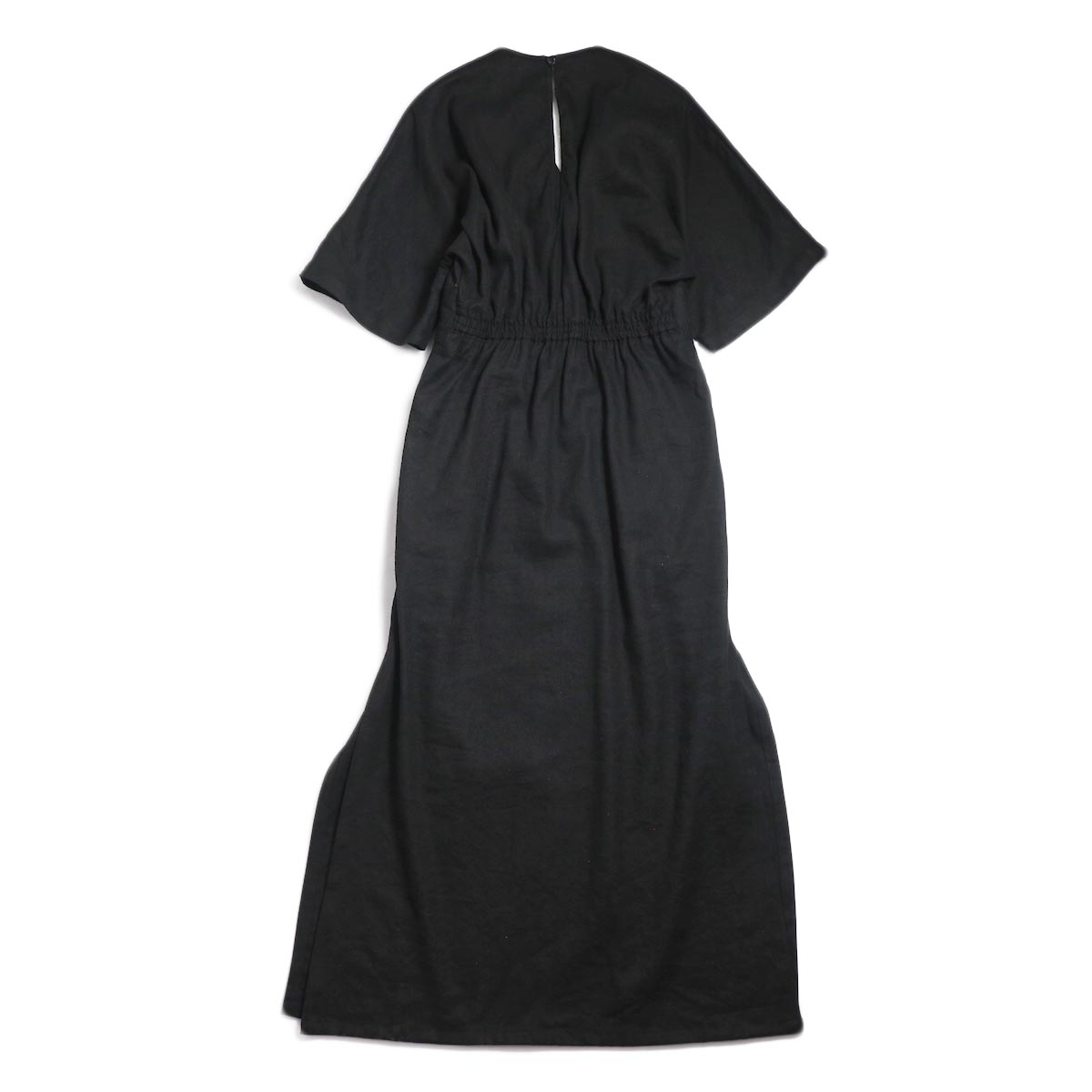 archi / Yucca Long Onepiece -Black 背面
