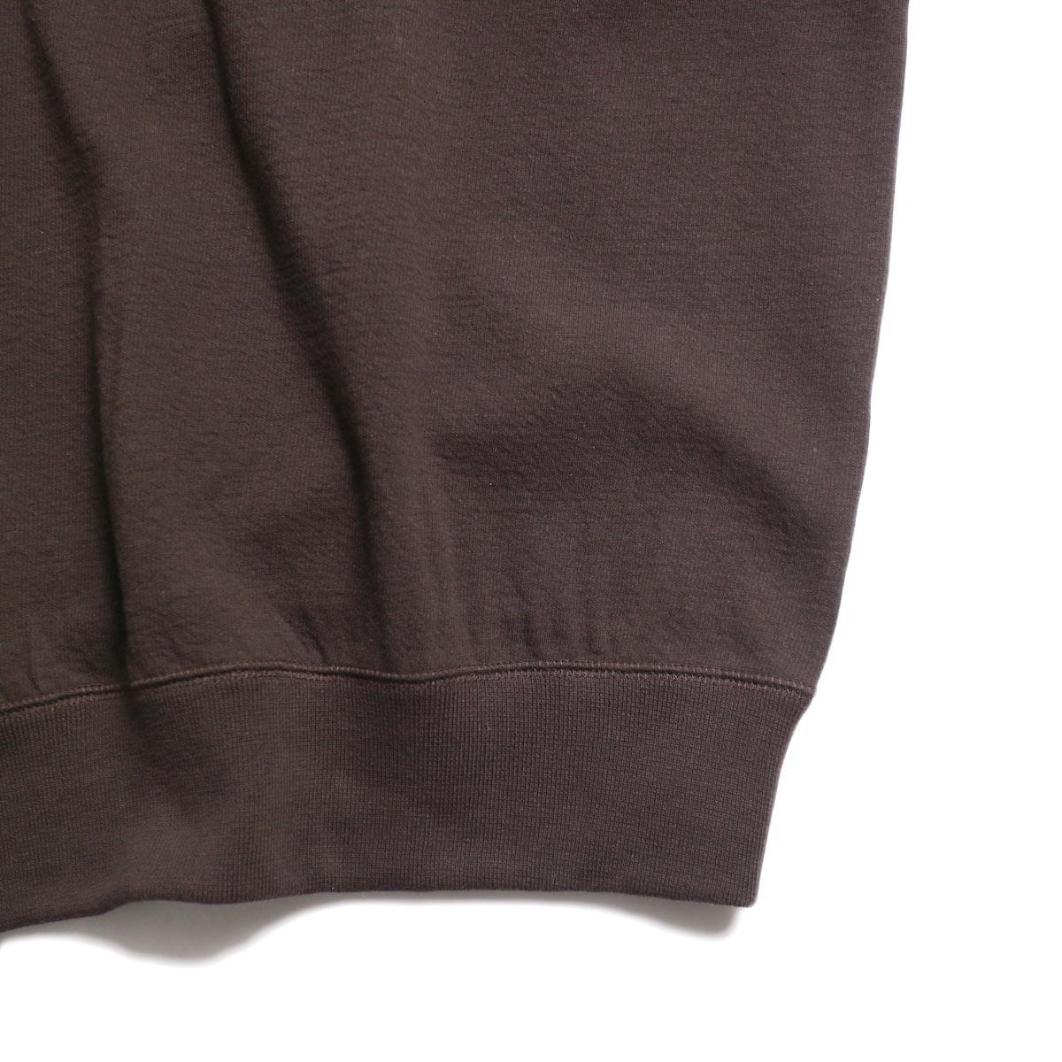archi / Vanda Tops -Brown 裾