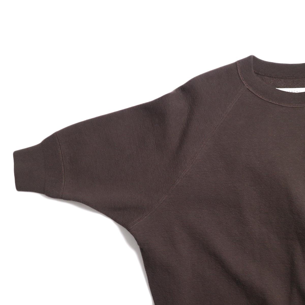 archi / Vanda Tops -Brown 袖