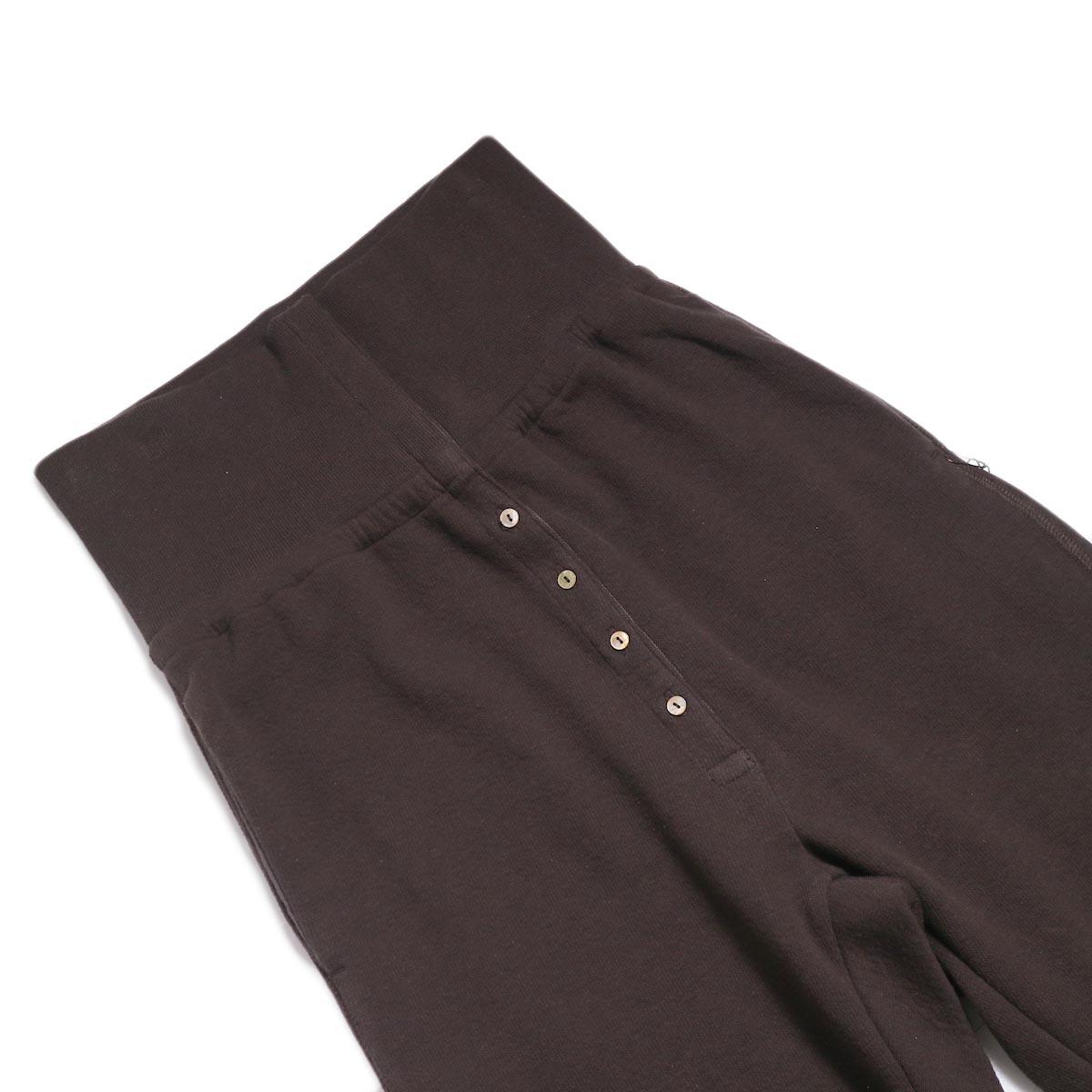 archi / Vanda Pants -Brown ウエスト
