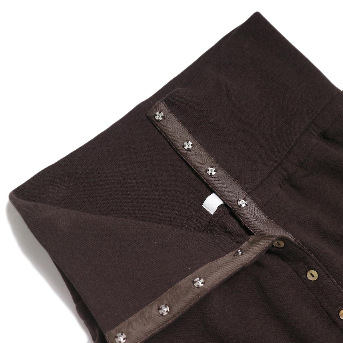 archi / Vanda Pants -Brown ボタン