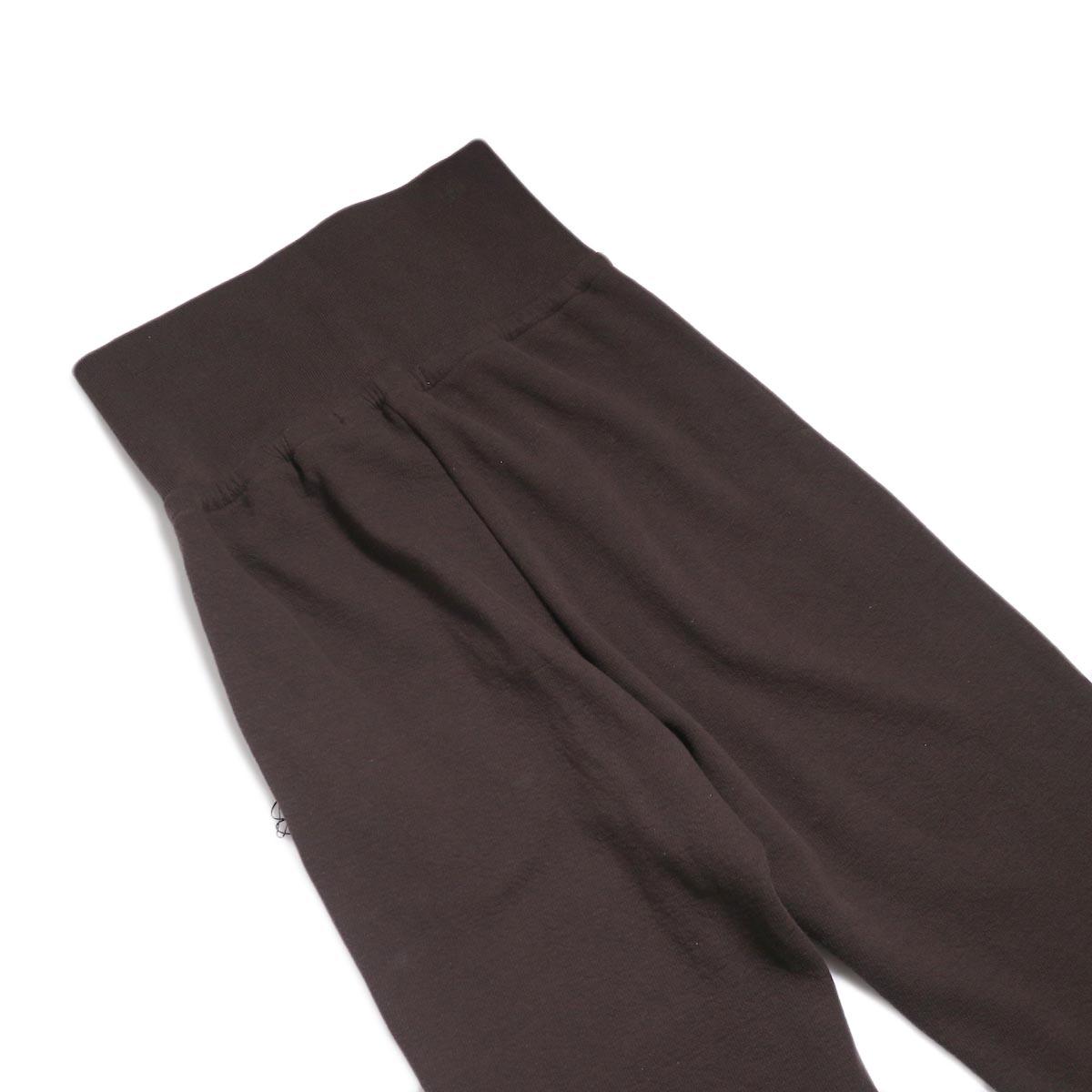 archi / Vanda Pants -Brown 背面ウエスト
