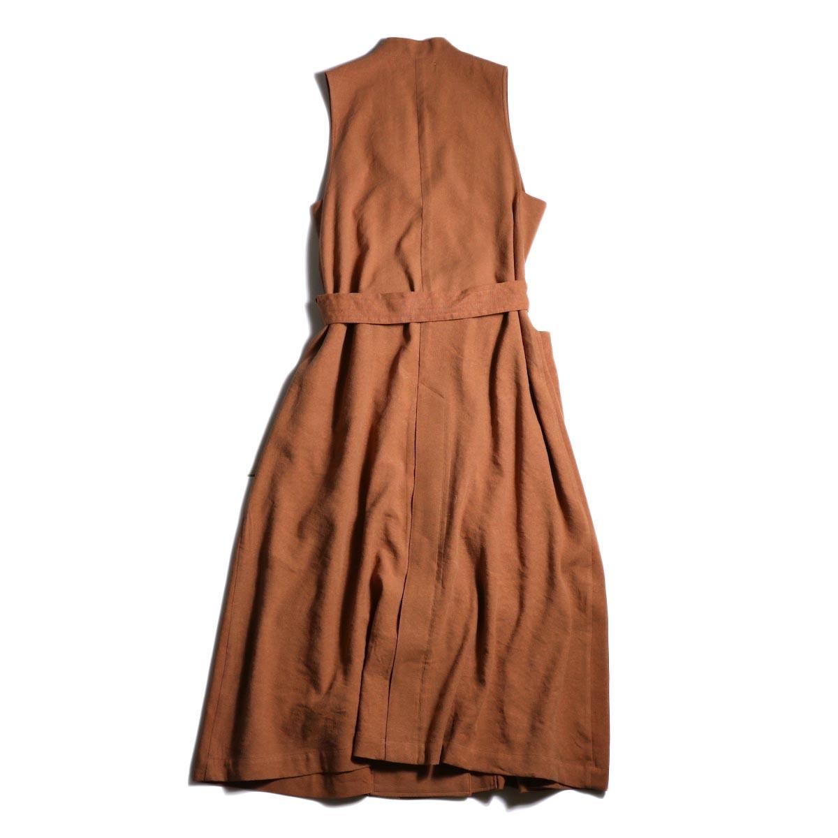 archi / Robinia Jacket (Terracotta)背面