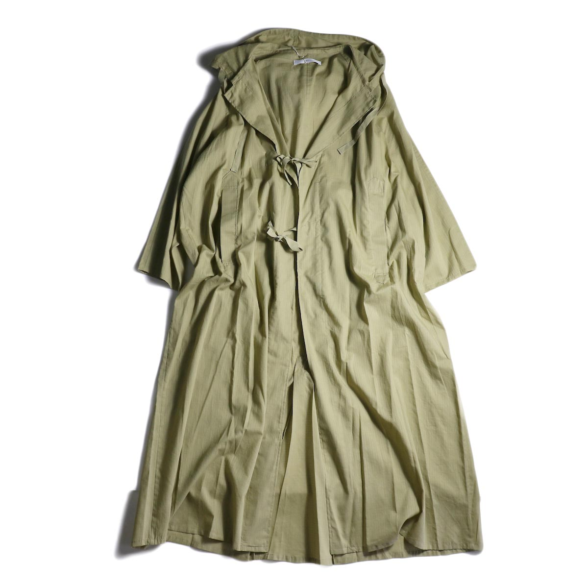 archi / RUMEX HOOD LONG SHIRT (Khaki)