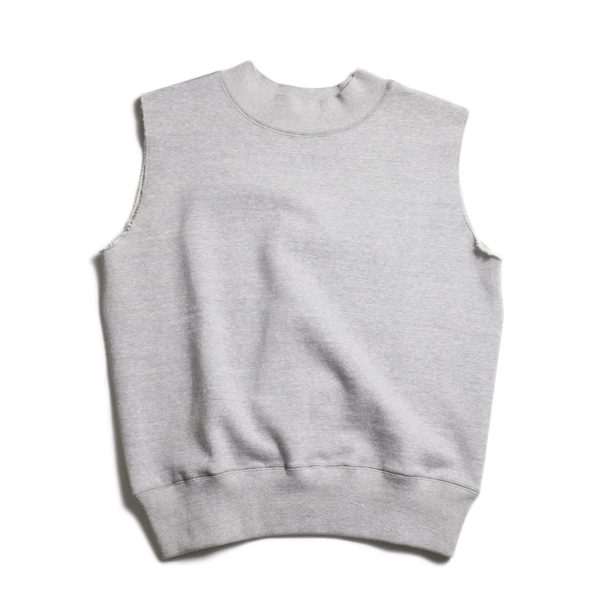 archi / FAGUS SWEAT SLEEVELESS TOP (Top Gray)