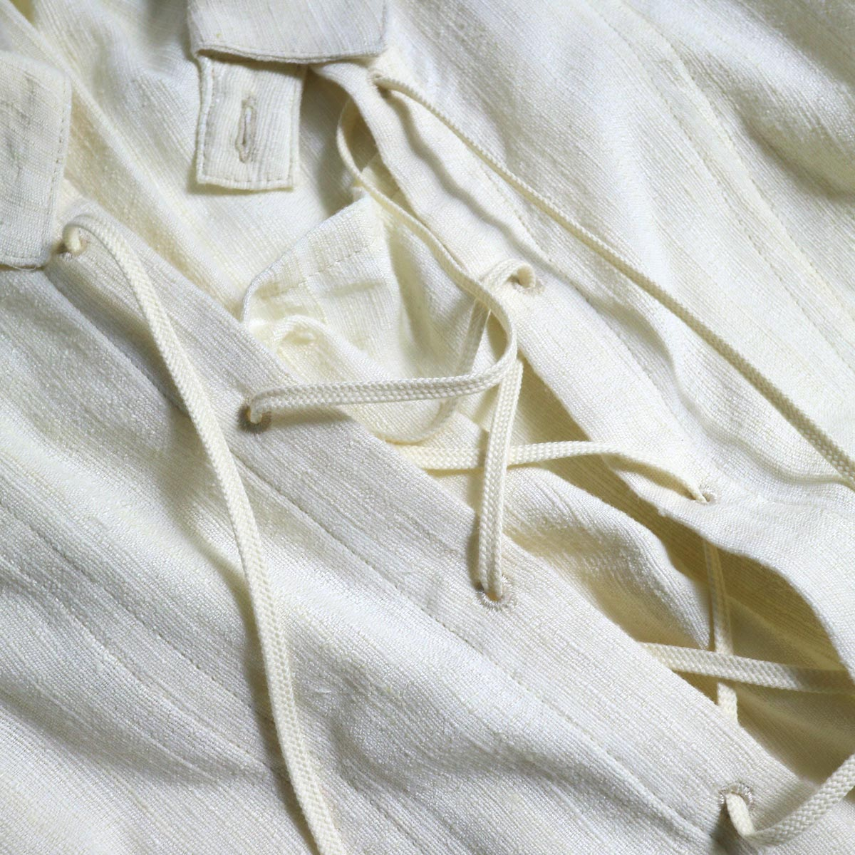 ARCHI / ANISE BLOUSE (natural) レース紐