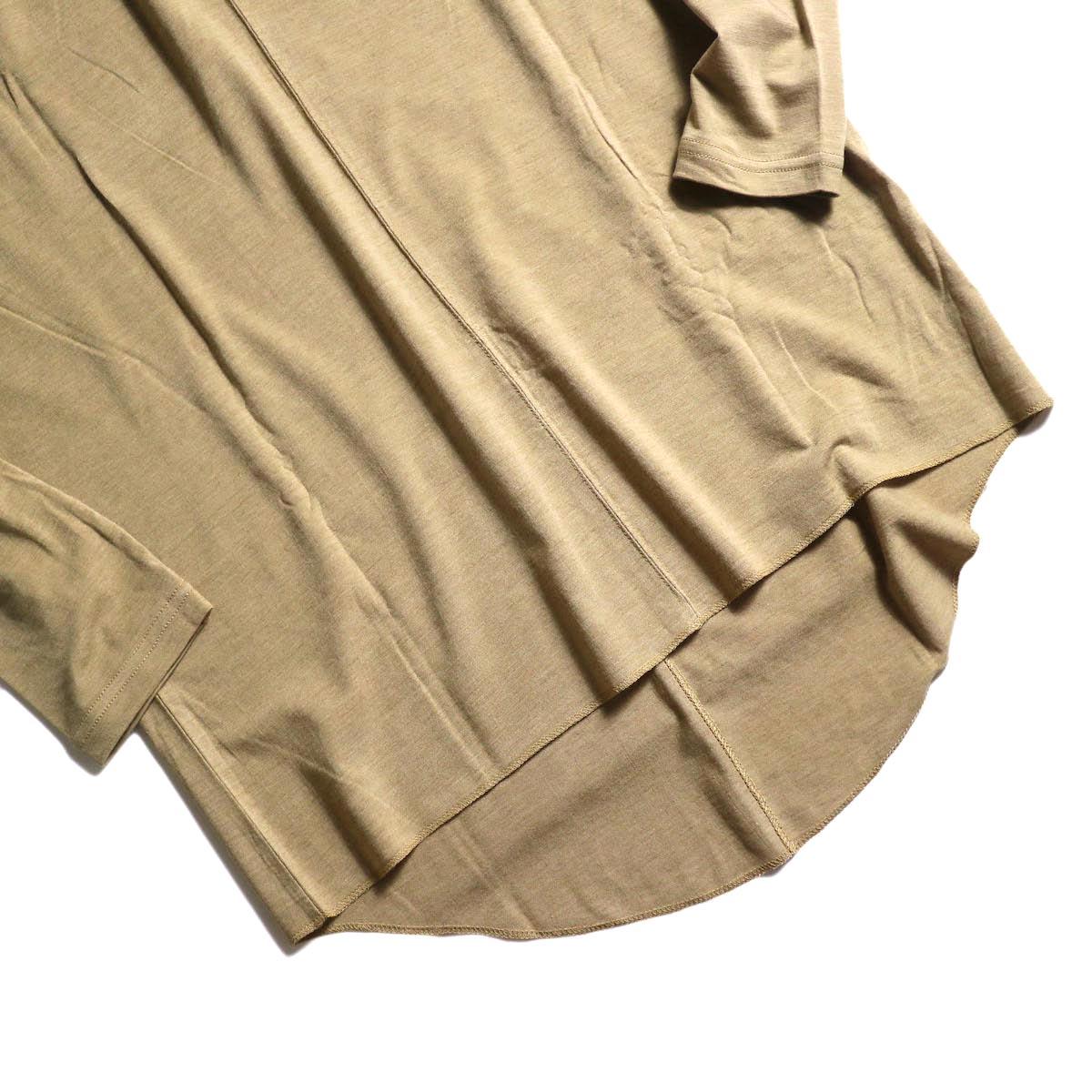 ARCHI / ABELIA ONEPIECE (beige) 裾