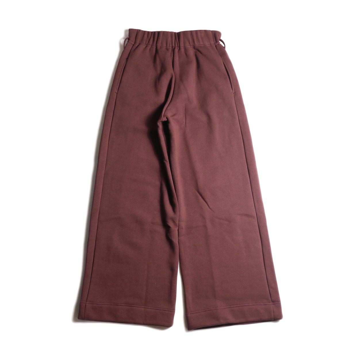 ARCHI /  VIBURMUM WIDE PANTS (burgundy) 背面
