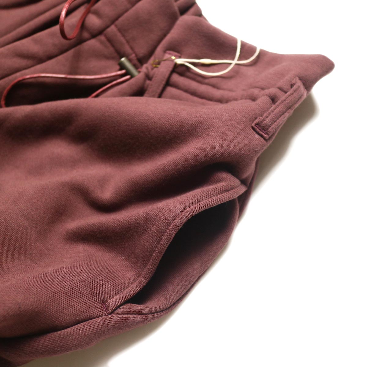 ARCHI /  VIBURMUM WIDE PANTS (burgundy) ポケット