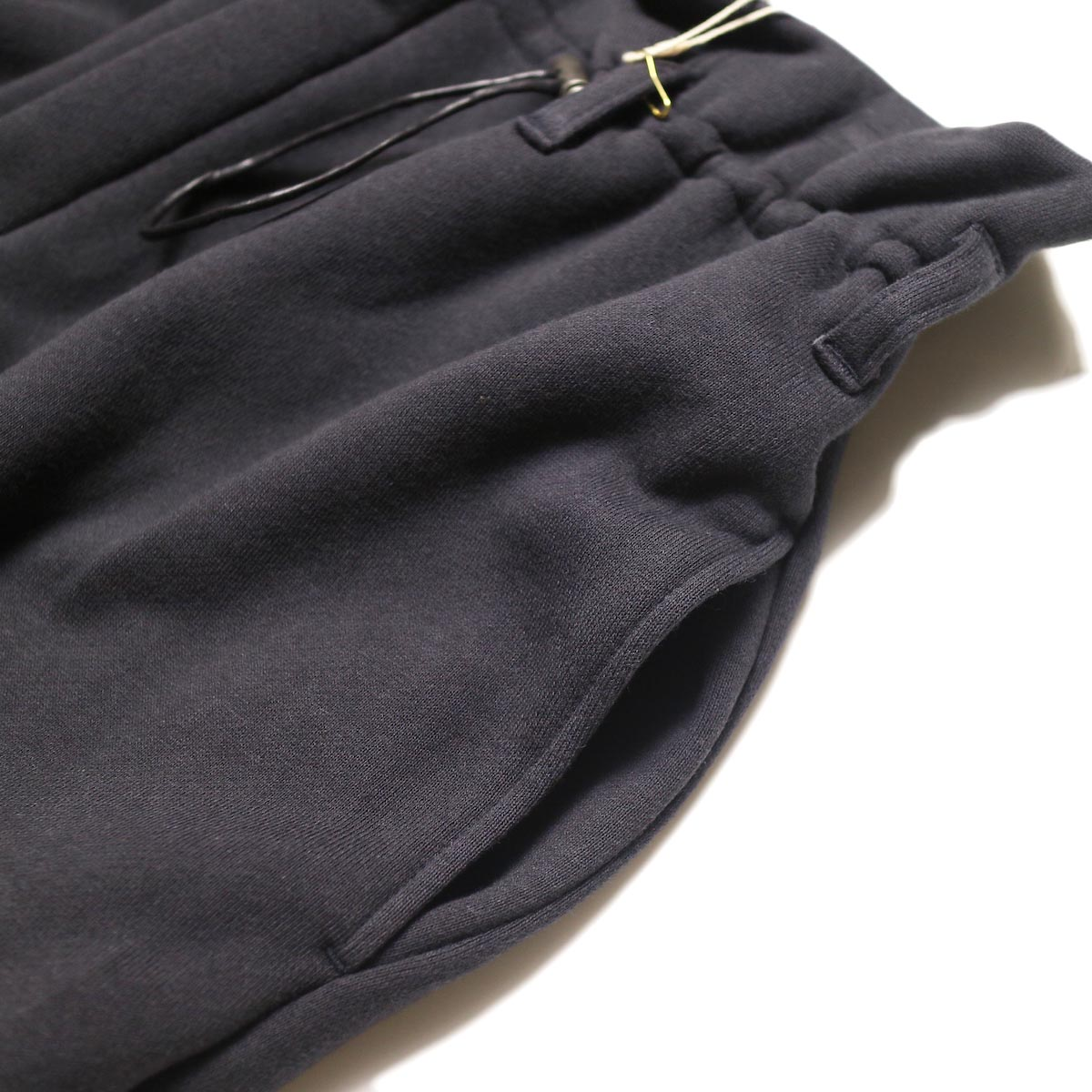 ARCHI /  VIBURMUM WIDE PANTS (navy) ポケット