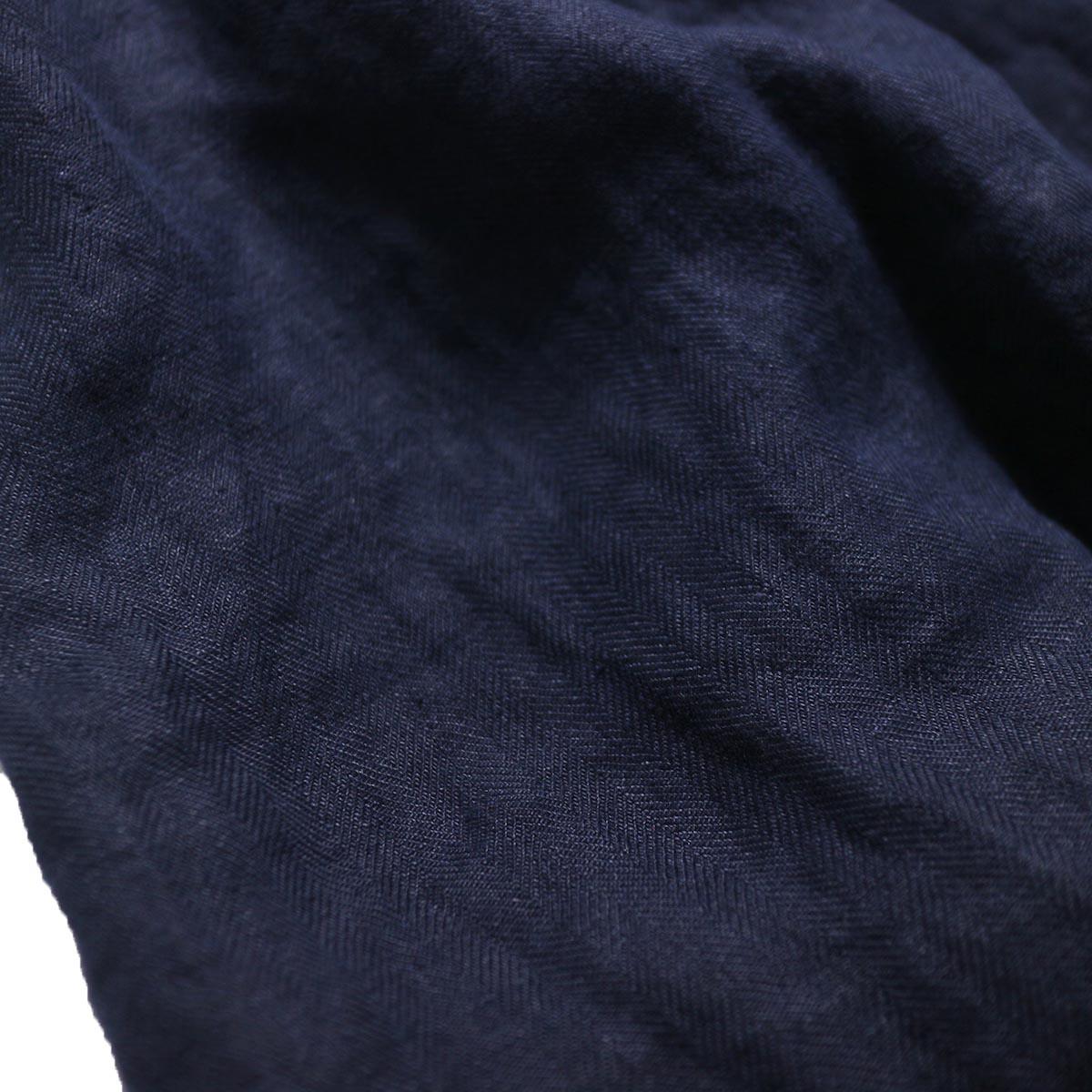 ARMEN / Apron One Piece -Marine 生地感
