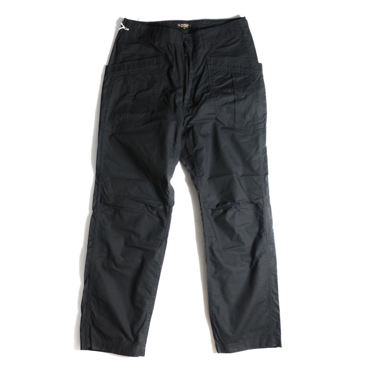 A VONTADE / Fatigue Trousers -Black