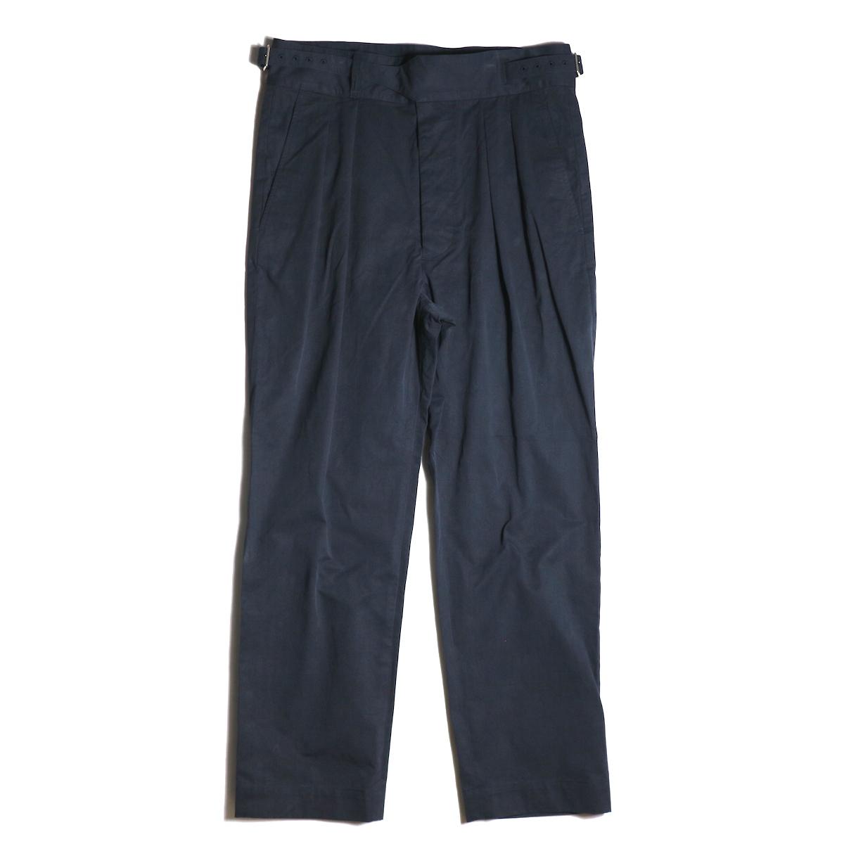A VONTADE / Gurkha Trousers -Dk.Navy