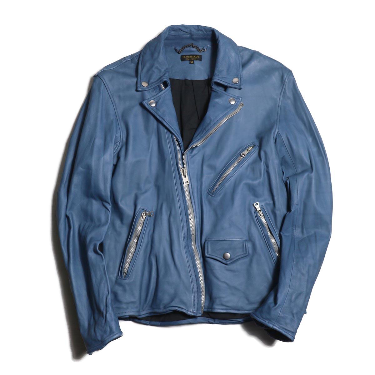 A VONTADE / Roadmaster Jacket -BLUE