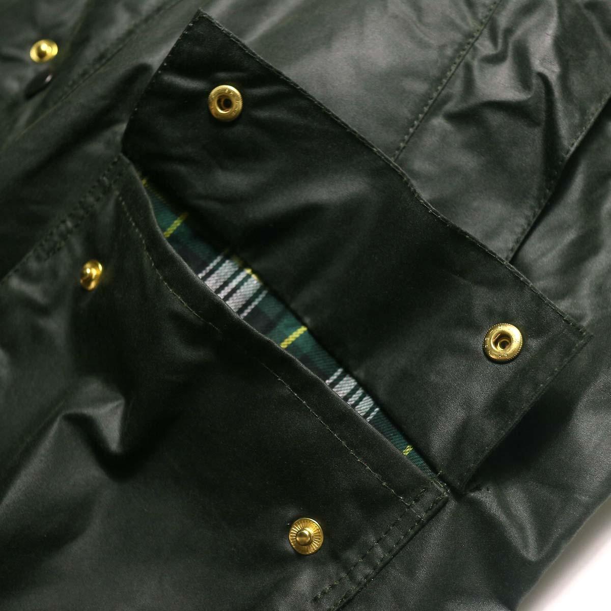 Barbour / Bedale Original (Sage Green) フラップポケット