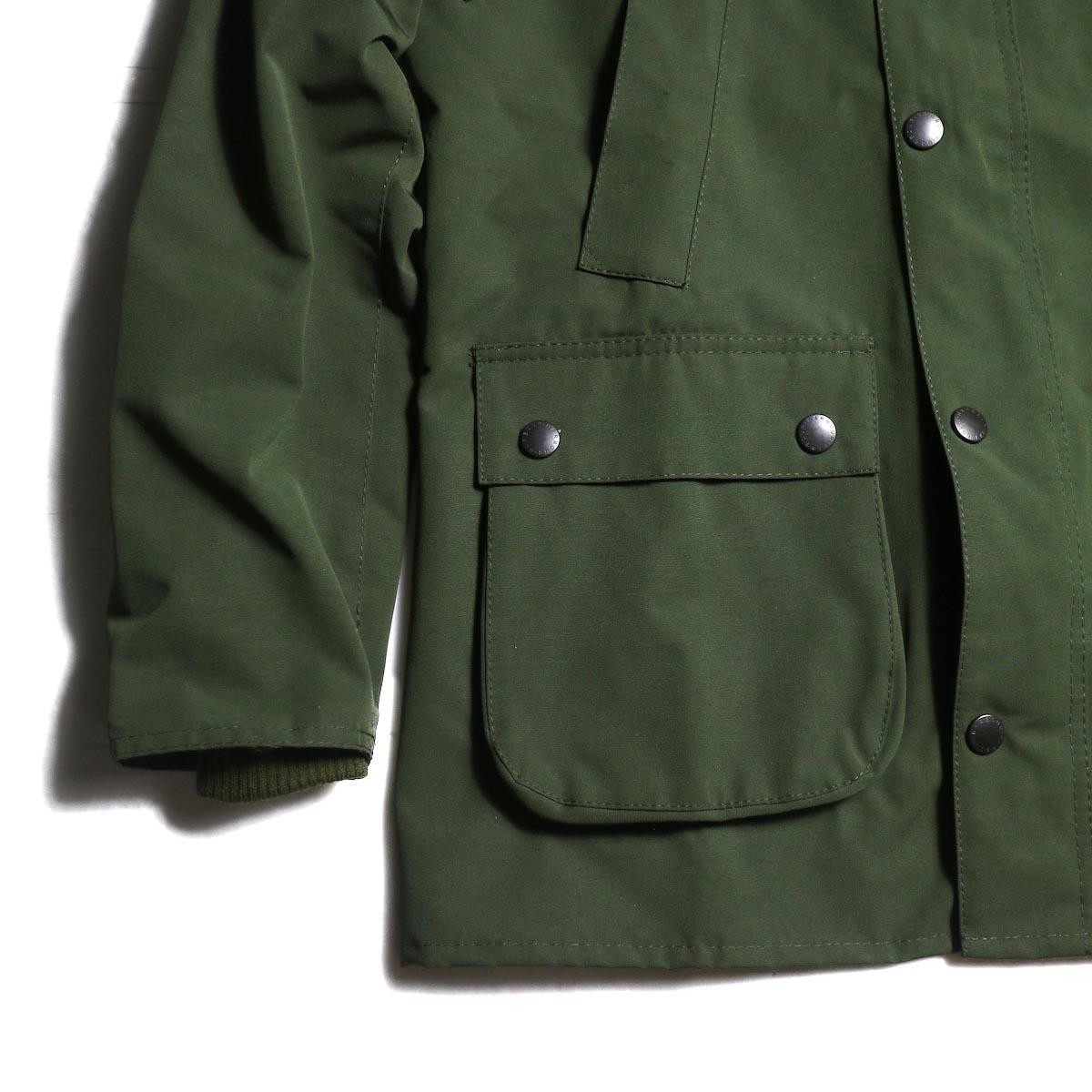 ポケット、裾