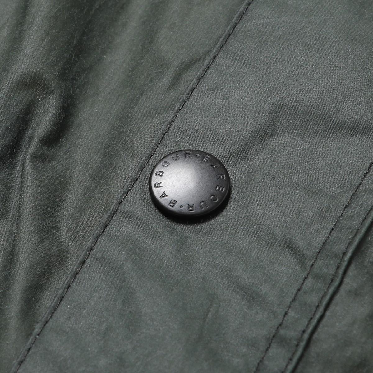 Barbour / Hiking Wax (Black)ボタン
