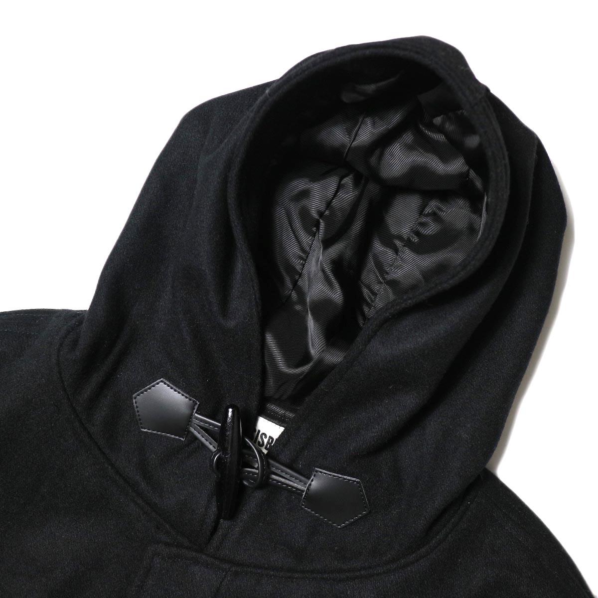 BASISBROEK /  BOIL COAT (black) フード