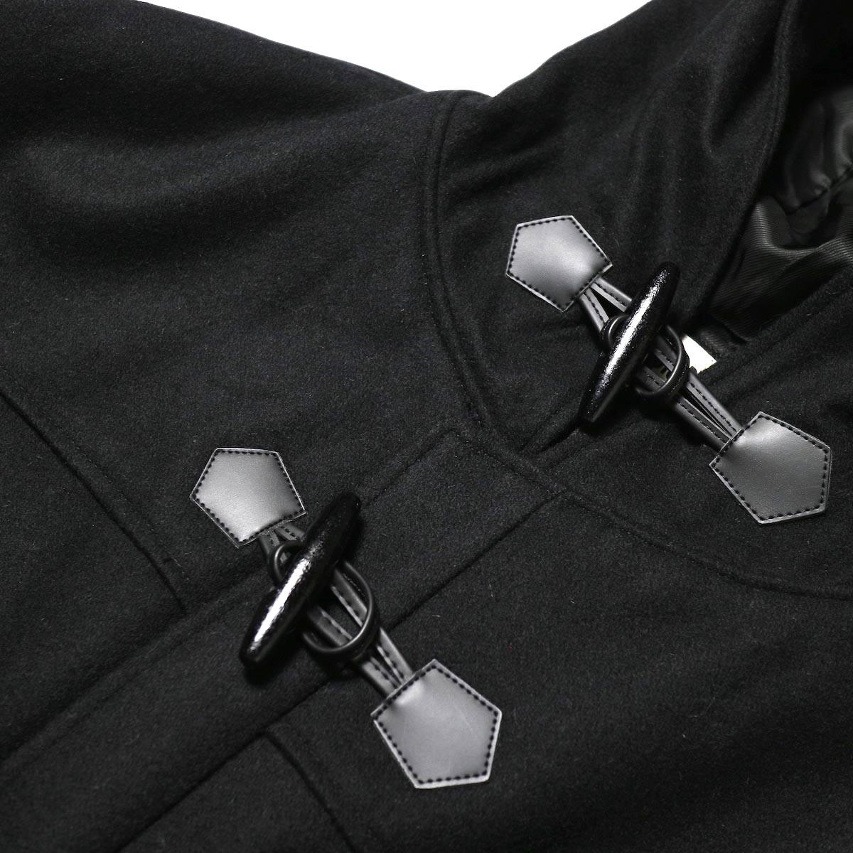 BASISBROEK /  BOIL COAT (black) ボタン