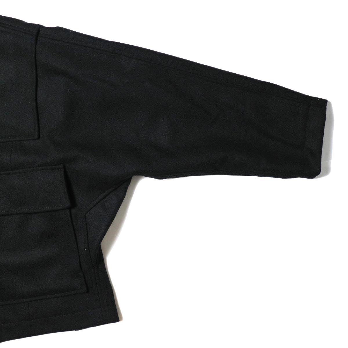 BASISBROEK /  BOIL COAT (black) 袖・ポケット