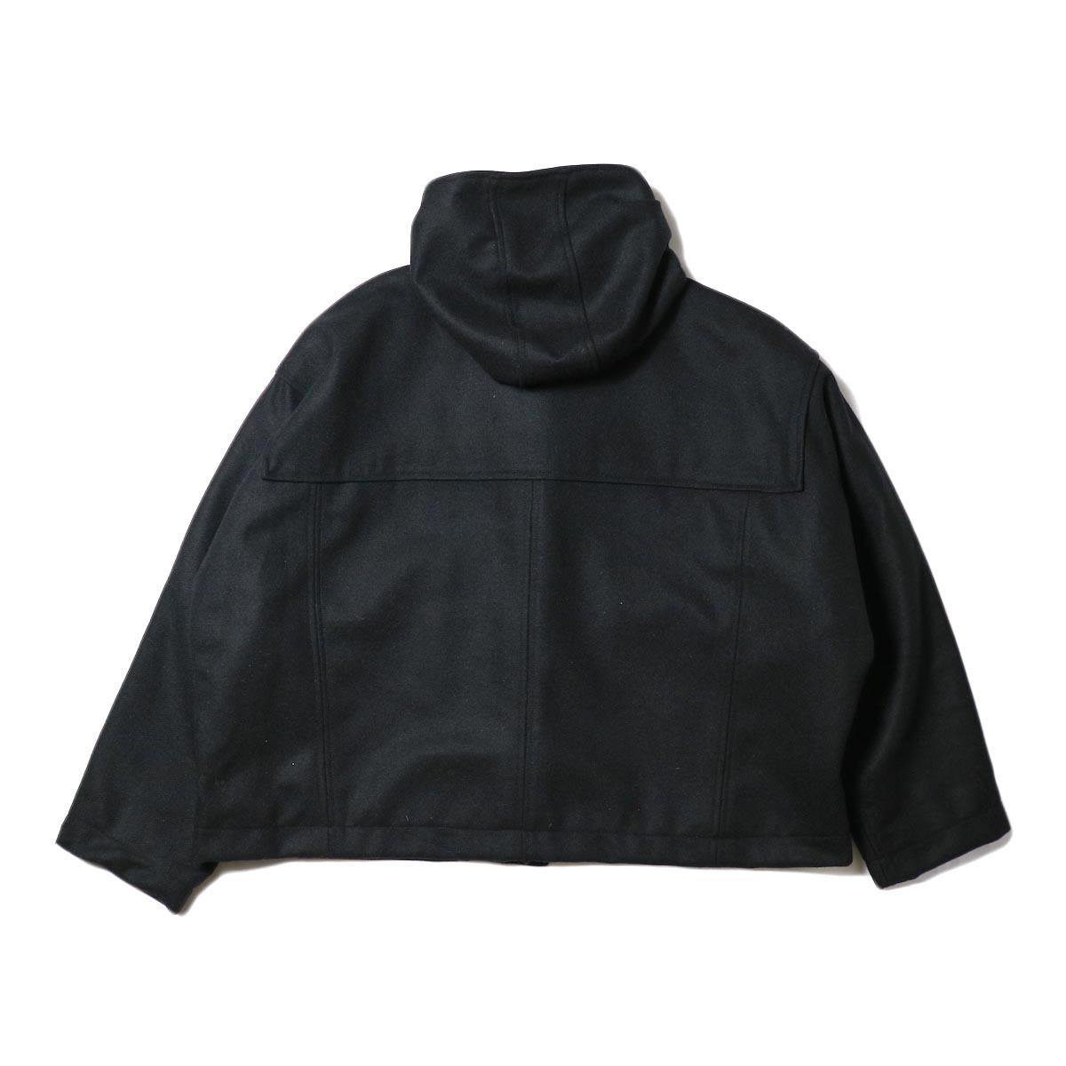 BASISBROEK /  BOIL COAT (black) 背面