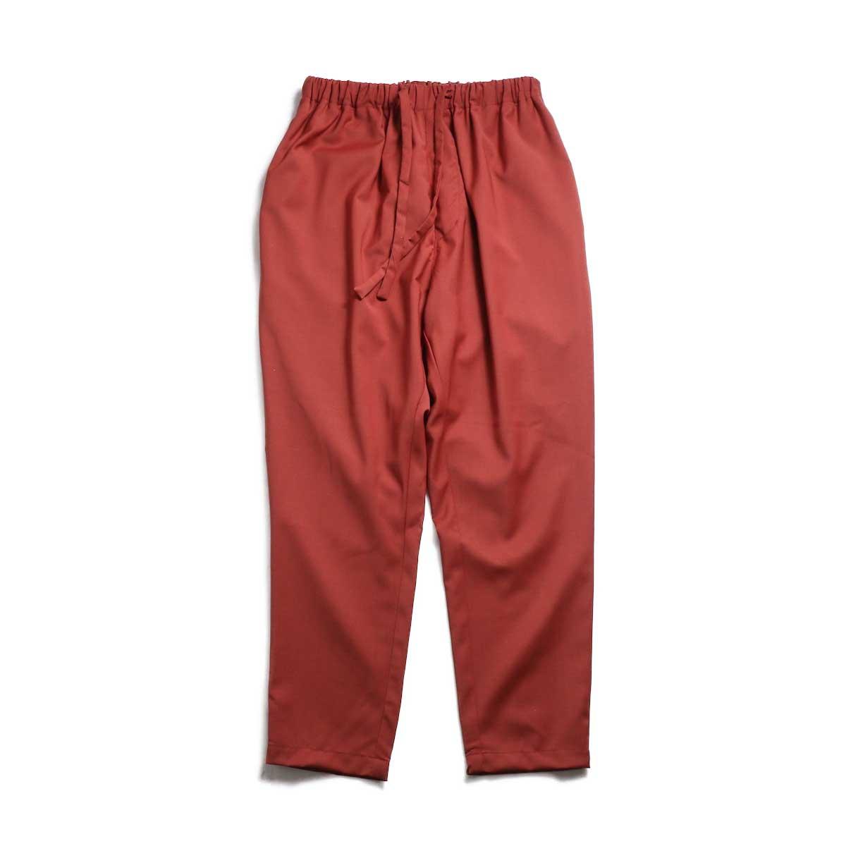 BASISBROEK / BRAVO Cropped Easy Pants (Sienna) 正面