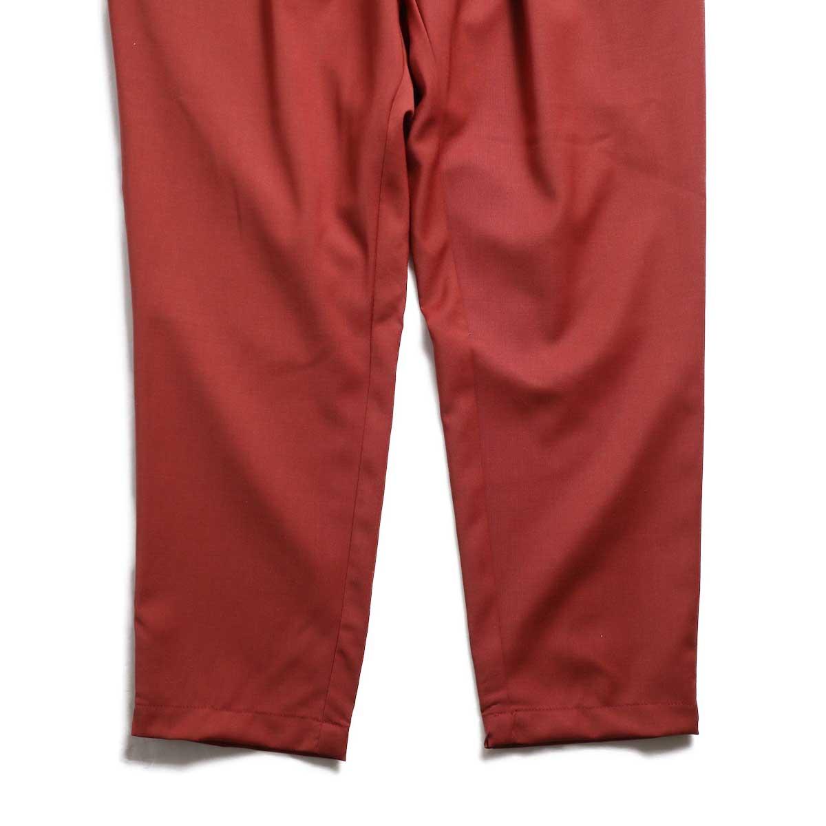 BASISBROEK / BRAVO Cropped Easy Pants (Sienna) 裾