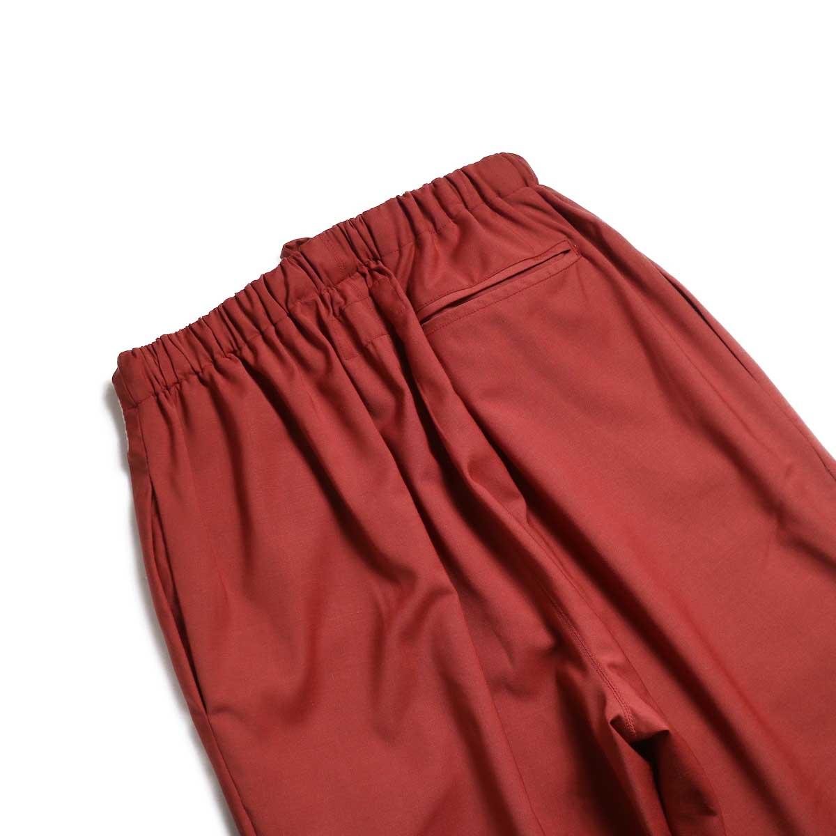 BASISBROEK / BRAVO Cropped Easy Pants (Sienna) バックポケット