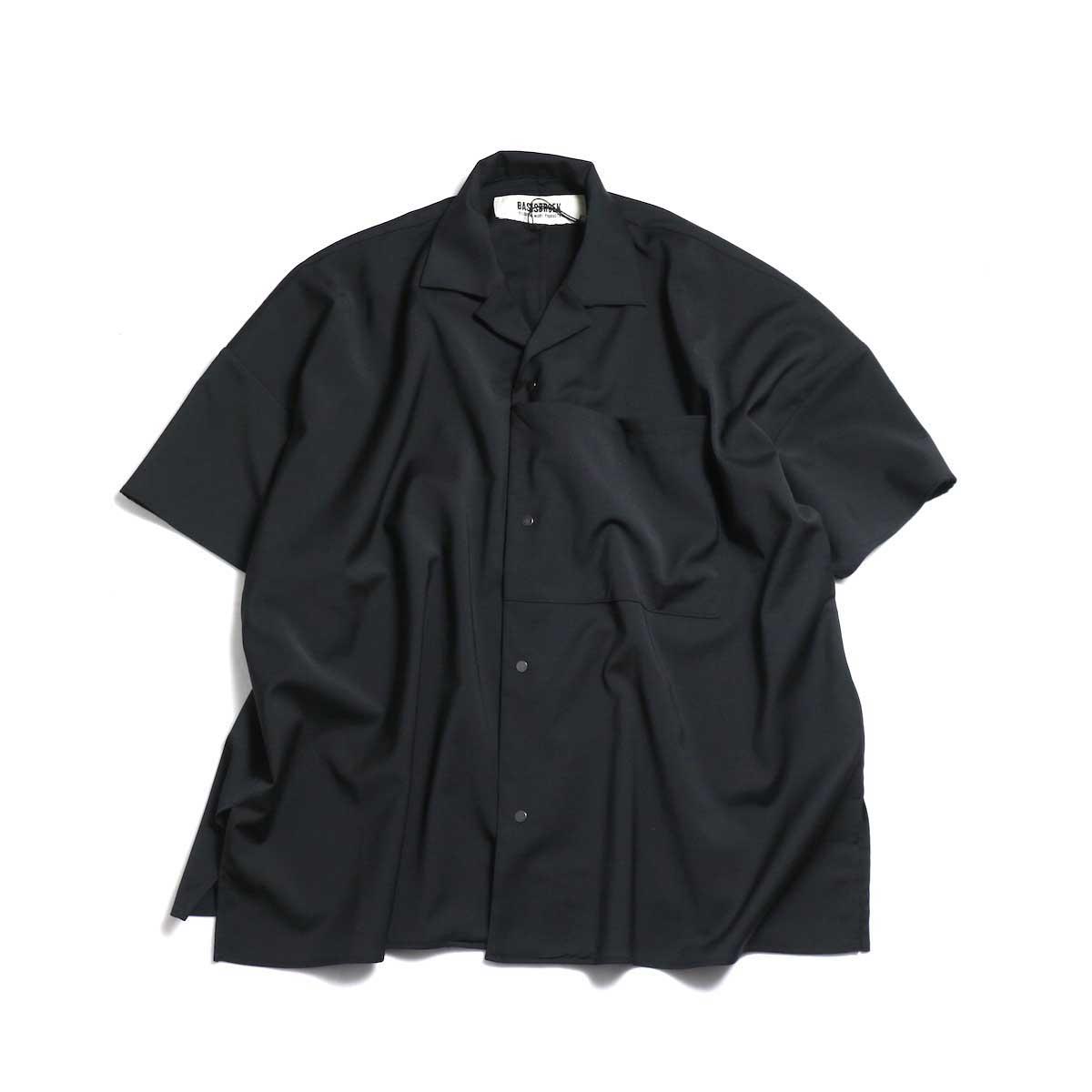 BASISBROEK / DEED -Oversize S/S Shirt (Black)