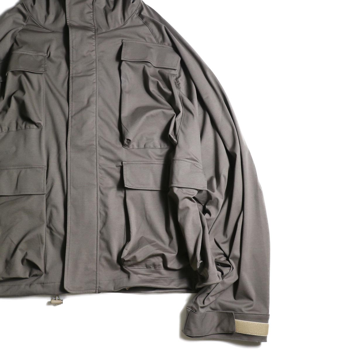 BASISBROEK / FORCE (Khaki)袖、裾