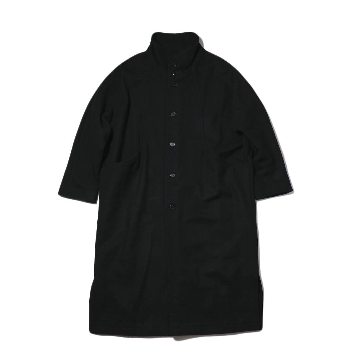 BASISBROEK /  GREAT COAT (black)