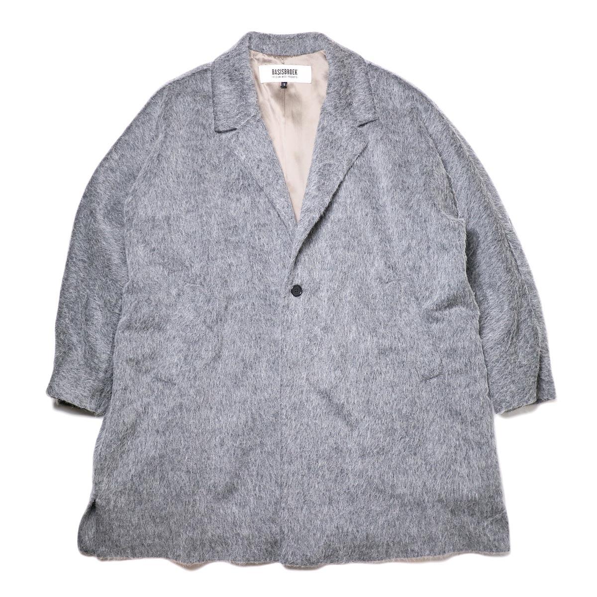 BASISBROEK / RECHT (med grey) 正面