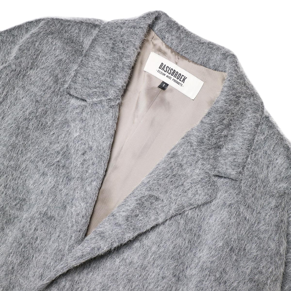 BASISBROEK / RECHT (med grey) 襟