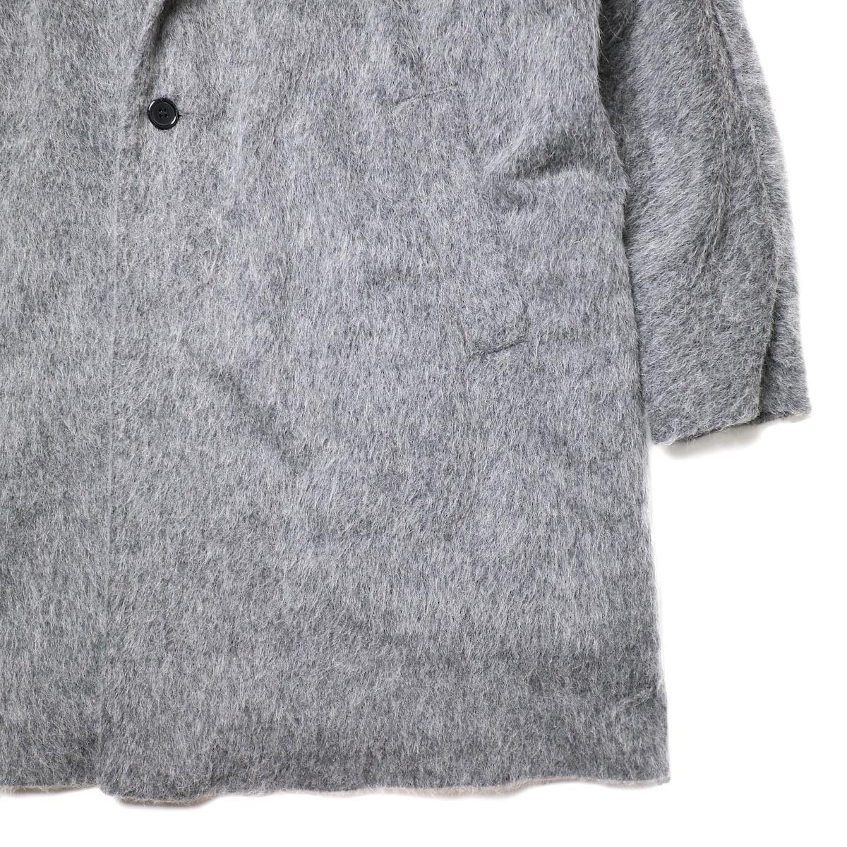 BASISBROEK / RECHT (med grey) 袖・裾