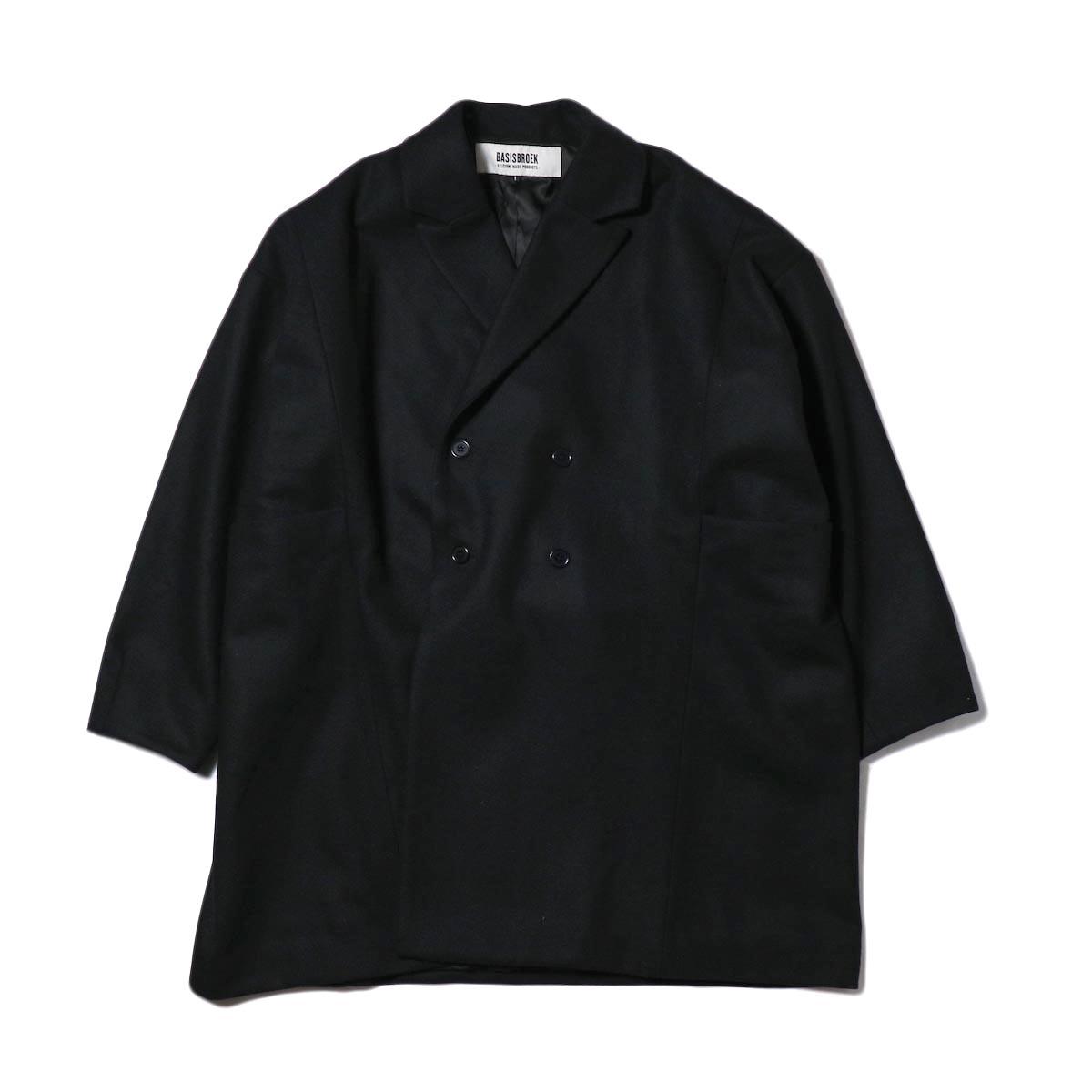 BASISBROEK / EGG SPARK COAT (black)