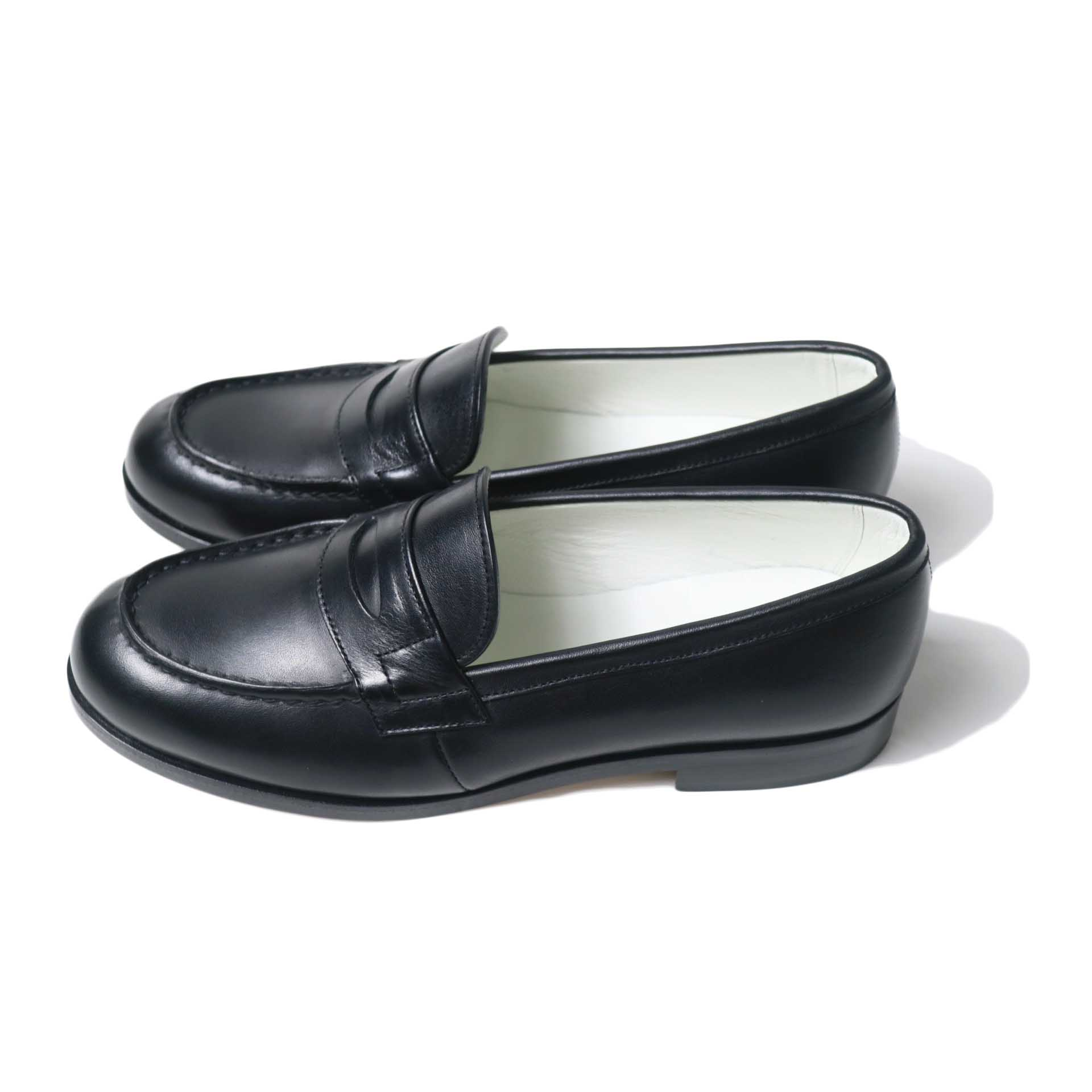 BEAUTIFUL SHOES / FRENCHI LOAFER (Black) 横