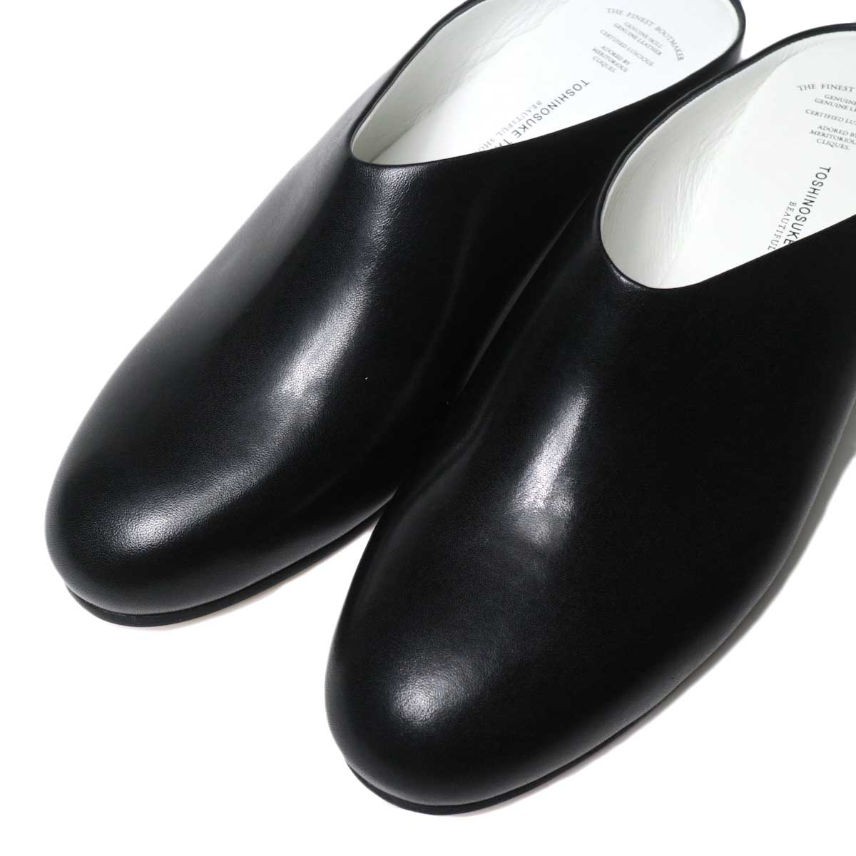 BEAUTIFUL SHOES / SHALLOW (Black) トゥ