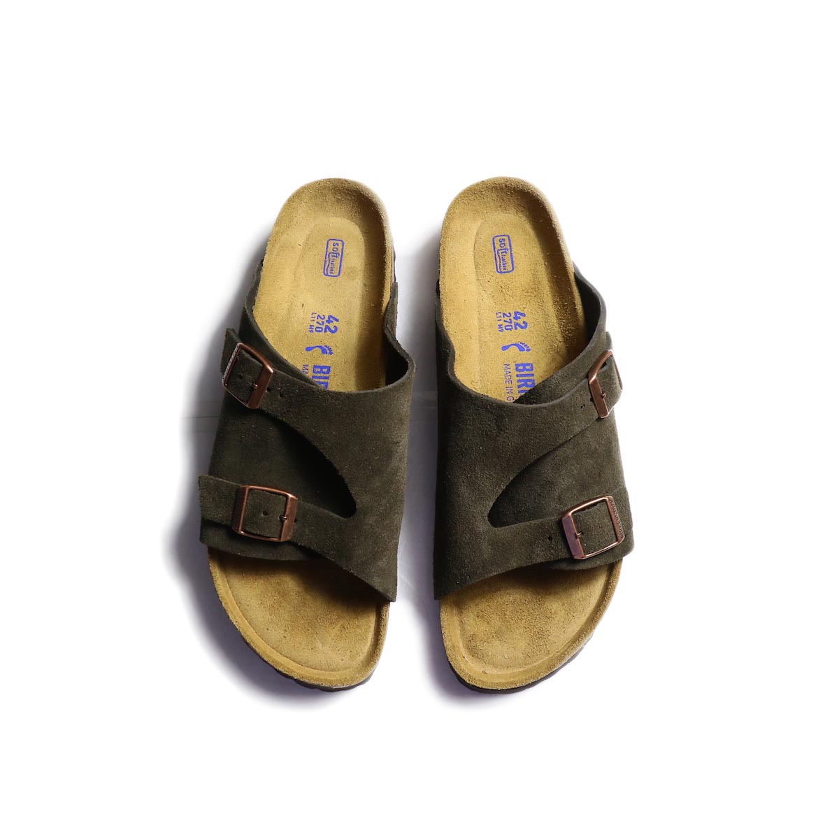BIRKENSTOCK / Zurich Soft Footbed -Mocha 正面