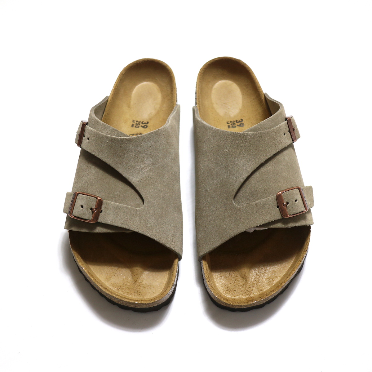 BIRKENSTOCK / Zurich Soft Footbed -Taupe 正面