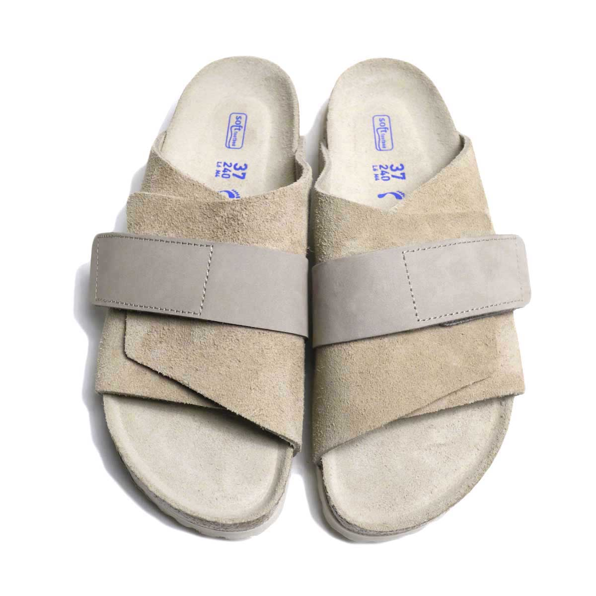 BIRKENSTOCK / Kyoto (Gray Taupe) 正面