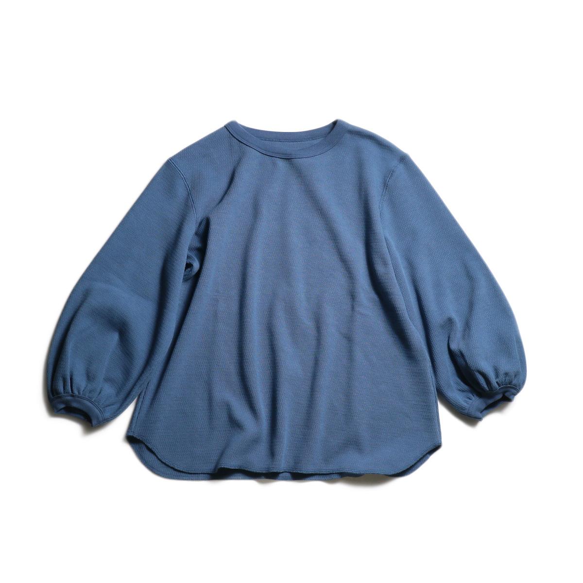 BLUEBIRD BOULEVARD / ハニカムベアサーマルトップ (D.Blue)