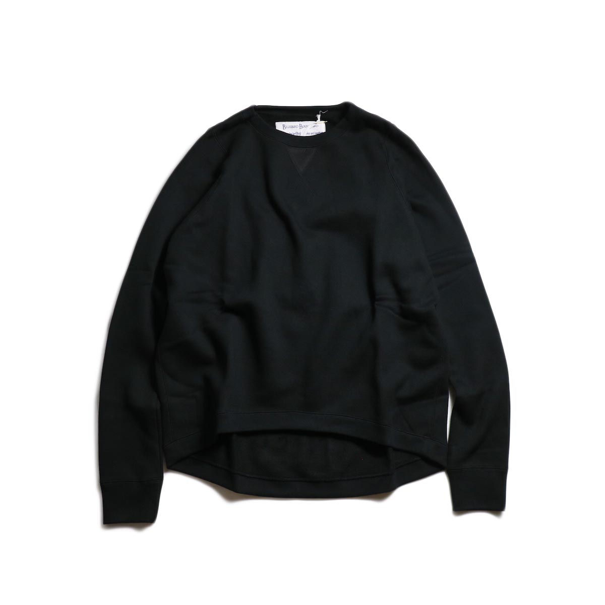 BLUEBIRD BOULEVARD / ビッグシルエットスウェットシャツ (Black)