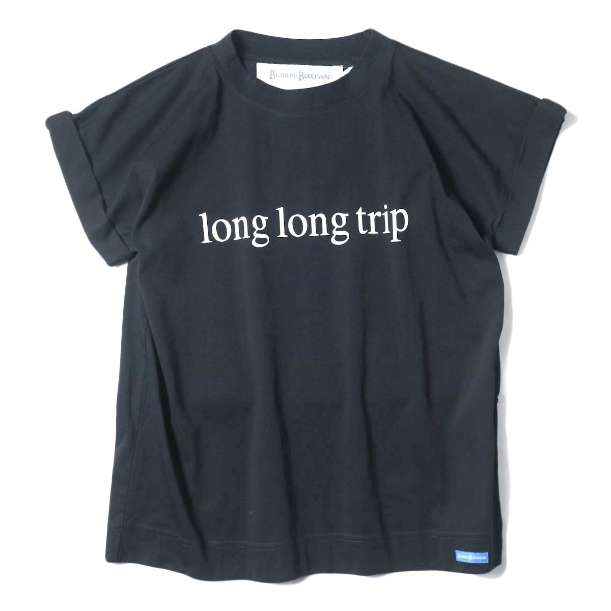 BLUEBIRD BOULEVARD / Long Long Trip ロゴTee (Black)