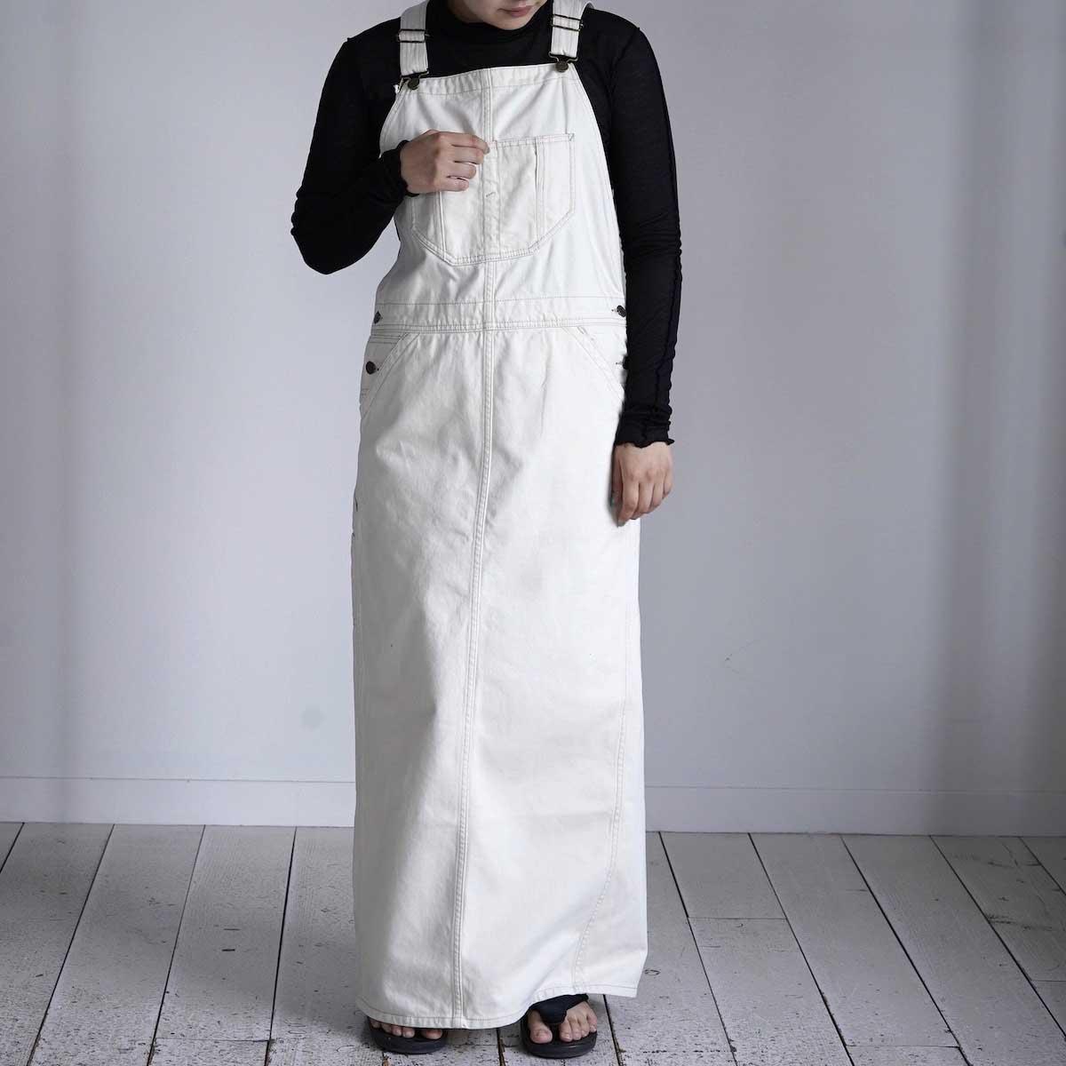 BLUEBIRD BOULEVARD / Classic Warm Worker Satin Jumper Dress 着用イメージ①